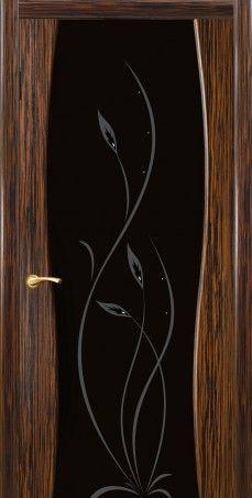 Грация полотно со стеклом пескоструй с рисунком.