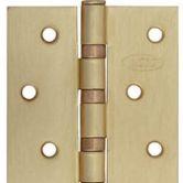 Петля универсальная прямая(матовое золото) 1 комплект