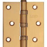 Петля универсальная прямая(золото) 1 комплект