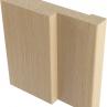 Коробка ламинированная ПВХ, основа - МДФ, беленый дуб(1шт)