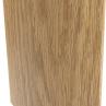 Наличник ламинированный ПВХ полукруглый, беленый дуб(1шт)